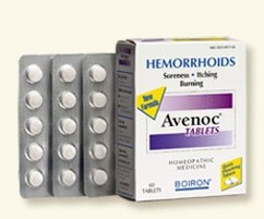 Boiron Hemorrhoids Avenoc Suppositories -- 12 Suppositories