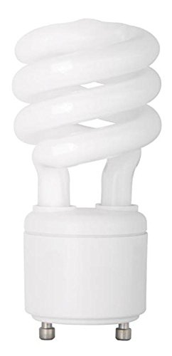 TCP 33113SP SpringLamp CFL - 60 Watt Equivalent (13-watt used) Soft White (2700-Kelvin) GU24 Base Spiral Light Bulb (Lightbulbs With Prongs compare prices)