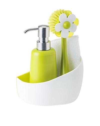 Vigar Cleaning Set 4 stuks . Set Orchid wit / groen