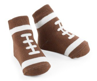 Baby Socks - Football Socks - Size 0-12 Months - 174405