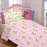 Disney Princess And The Frog Southern Butterflies Twin Sheet Set front-103656