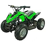 Kids ATV Electric Youth Quad Sport for Children with Reverse- Green
