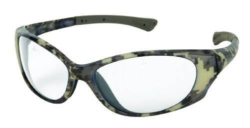 9ed69b6392f MCR Safety PA310 Wounded Warrior Polycarbonate Bayonet Temple Glasses with  Plasma Digital Camo Pattern Frame and