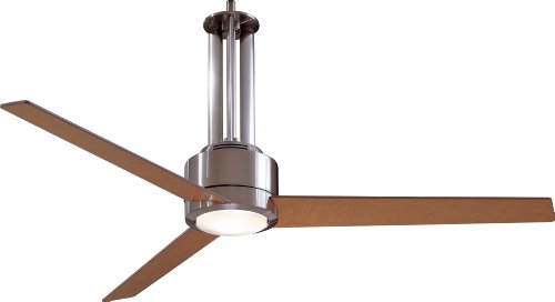 Minka Aire F531-L-BN Flyte 56 in. Indoor Ceiling Fan - Brushed Nickel