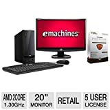 eMachines AMD E-300 500GB HDD PC + 20