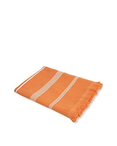 bambeco Coastal Summer Beach Towel, Tangerine As You See