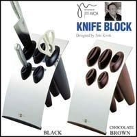 GS 18-0 シンプルタイプ ナイフブロック ブラック
