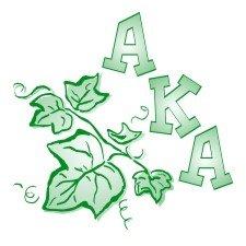 Alpha Kappa Alpha Mascot Screen Printed T