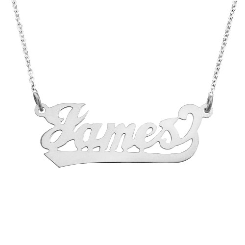 Gold Name Plates Necklaces