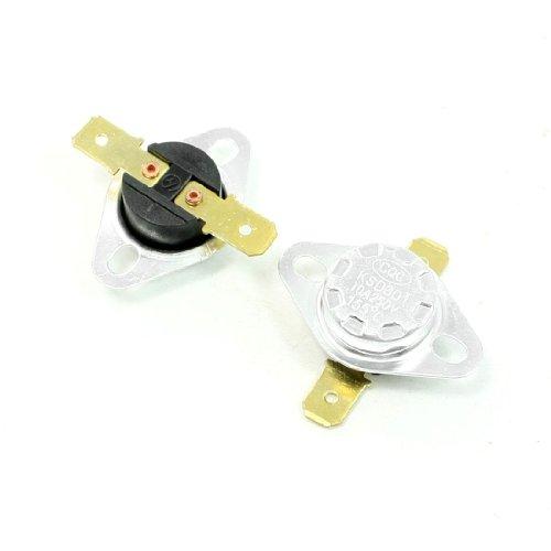 2 Pcs 250V 10A 155 Celsius 311F Normal Close Temperature Controlled Switch Ksd301