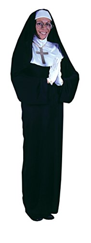 Funworld Womens Mother Superior Nun Religious Theme Party Halloween Costume