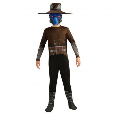 Star Wars Clone Wars Cad Bane Halloween Costume - Child Size Small 4-6