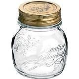 Bormioli Rocco 5 ounce Jar with Rubber Gasket - Set of 4