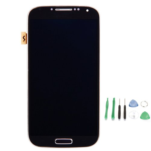 Frame + Lcd Screen Touch Digitizer Assembly For Samsung Galaxy S4 Siv I9500 Blue