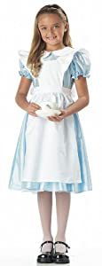 Girl's Alice in Wonderland Costume by California Costumes - Size 10 / 12
