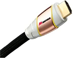 Monster M1000 HD-8 Ultimate High Speed HDTV HDMI Cable (8 feet) (Discontinued by Manufacturer)