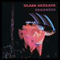 Black Sabbath Paranoid Logo Iron On Patch p745