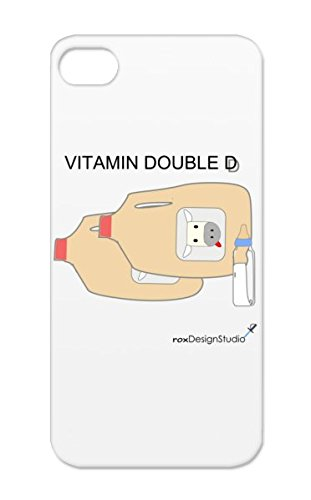 Vitamin Double D Brown Girl Baby Family Humor Chest Provocative Breast Kid Baby Milk Miscellaneous Female Toddler For Iphone 5S Protective Hard Case front-272676