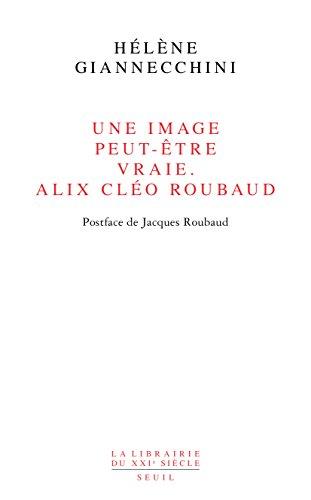 Une image peut-être vraie. Alix Cléo Roubaud: Postface de Jacques Roubaud