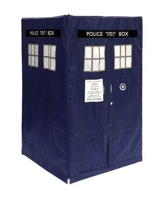 HGL Doctor Who Tardis Tent Opening