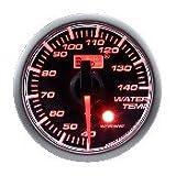 オートゲージ(AUTOGAUGE) 水温計 SM45Φ アンバーレッドLED