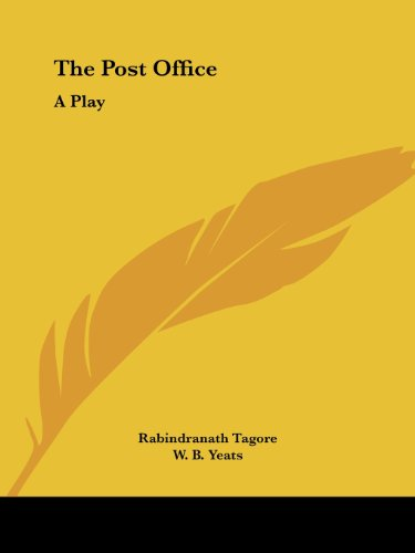 POST OFFICE A PLAY By Rabindranath Tagore BRAND NEW  - $36.75