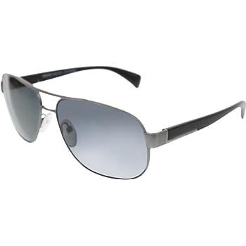 d27b110fe7 Prada PR52PS Sunglasses-7CQ 5Z1 Matte Gunmetal (Polarized Gray Lens)-61mm