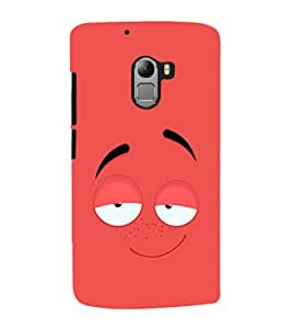 ColourCrust Lenovo K4 Note Mobile Phone Back Cover With Smiley Drunk Or Tipsy Expression - Durable Matte Finish Hard Plastic Slim Case