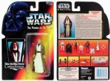 Star Wars Power of the Force Ben Kenobi Red Card Action Figure with Lightsaber and Removable Cloak