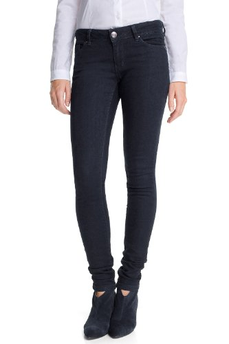 edc by ESPRIT - Jeans, slim fit, donna, Blu (938 rinse denim), 46 IT (32W/30L)