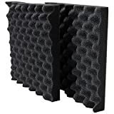 "Acoustic Foam 1-1/2"" x 12"" x 12"" 2 Pieces UL 94"