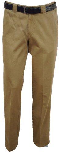 Meyer-Pantaloni Casual da uomo Oslo 9-316 marrone chiaro 42W x 32L