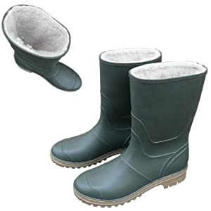 Mens / Womens / Unisex Fleece Lined Wellies - Wellington