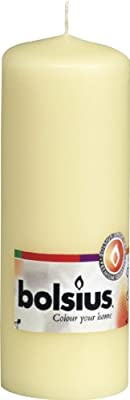 Bolsius Outdoorindoor Pillar Candle 300x100mm - Ivory by Ivyline
