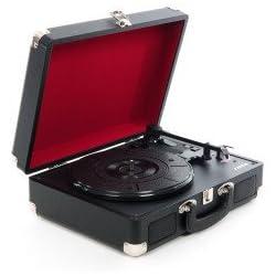 Xenta Briefcase Vinyl Turntable