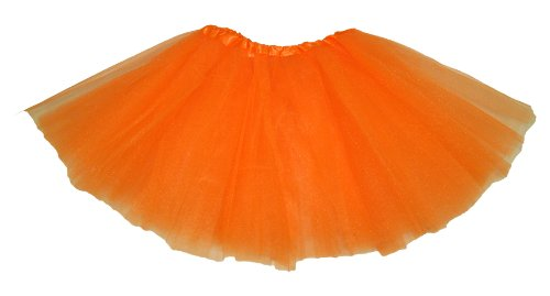 Orange Dance Or Ballet Tutu For Girls Tutu Skirts Halloween Tutus front-48763