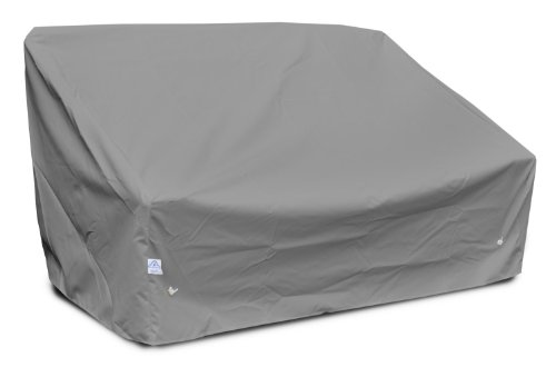 KoverRoos Weathermax 86350 Deep 2-Seat Sofa Cover, 58-Inch Width by 35-Inch Diameter by 32-Inch Height, Charcoal