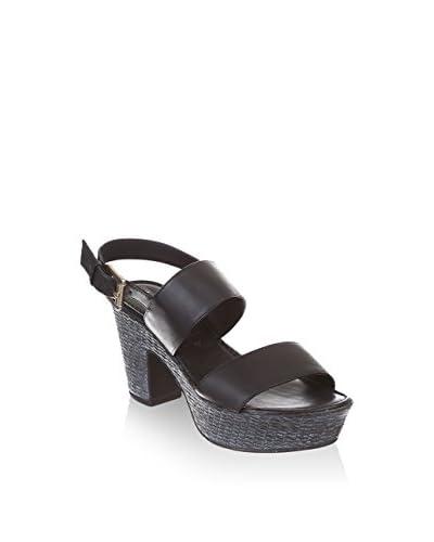 RE.PO. - PHIL GATIER Sandalo Con Tacco [Nero]