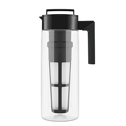 Review Takeya Flash Chill Iced Tea Maker (2 Quarts, Black)