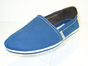 Dunlop Womens Canvas Slip On Espadrille Shoes Sneakers Beach Pumps Sizes UK 3-8