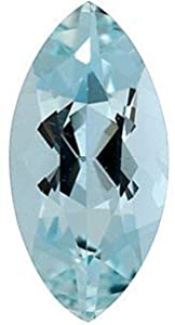 Marquise Shape Aquamarine Loose Gemstone, Quality Grade, B 0.15 carats 5.00 x 2.50 mm