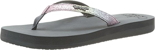 Reef Women's Star Cushion Luxe Flip Flop,Grey/Ombre,10 M US