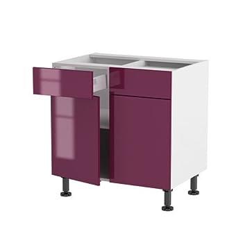 Pas cher atelier du menuisier cuisine meuble bas 80 cm for Atelier du meuble