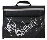 Musicwear: Sacoche De Musique Port�e Onduleuse (Noire) Accessoire