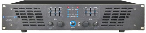 Gail R French Technical Pro Ax Amplifier Series Ax3000