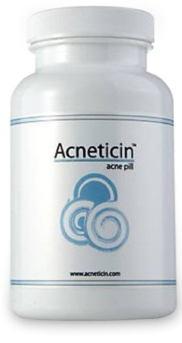 ACNETICIN ~ Fast Acting Acne Blemish Treatment Pill. Acne Free in 72 Hours!