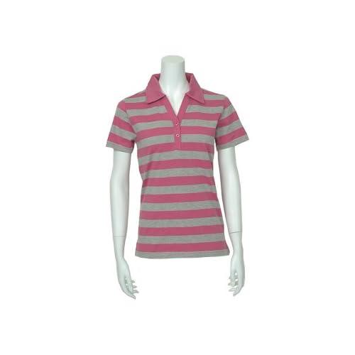 (クローズトラック) CLOTHES TRUCK ポロシャツ レディース ボーダー スキッパー 半袖