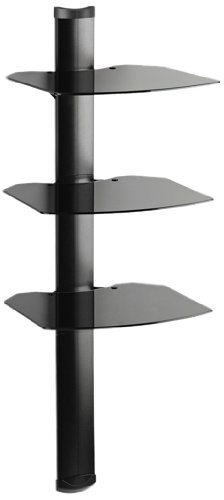 Kanto Avs3 Av Component Wall Shelf System - Triple