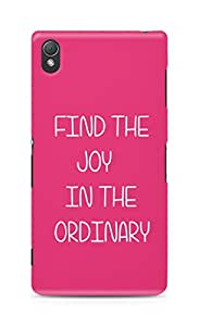 AMEZ find the joy in the ordinary Back Cover For Sony Xperia Z3