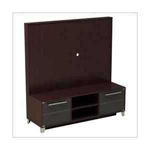 Lcd Tv Wooden Panel : Nexera Brooklyn Espresso Wood Plasma,LCD TV Console and Support Panel ...